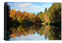 Tranquil Loch Dunmore, Canvas Print
