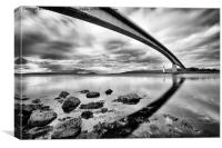 Skye Bridge, Canvas Print