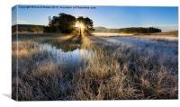 Loch Morig Sunrise, Canvas Print