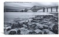 River Forth, Canvas Print