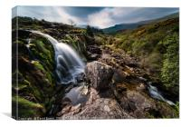 Loup of Fintry Waterfall, Canvas Print