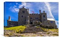 St Michaels Mount,Cornwall, Canvas Print