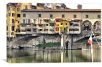 Ponte Vecchio, Florence, Italy, Canvas Print