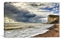 Storm at sea, Canvas Print