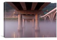 Under the Bridges, Canvas Print