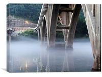 Bridges, Canvas Print