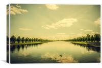 A Royal Garden - Long Lake, Canvas Print