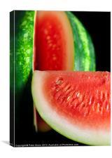 Watermelon, Canvas Print