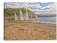 tynemouth boats, Canvas Print