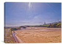 cullercoats, Canvas Print