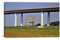Sheppey crossing, Canvas Print