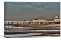 Blackpool Sands - Series 1, Canvas Print