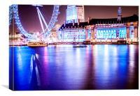 Piece of London, Canvas Print