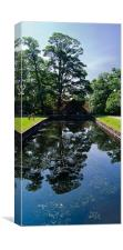 Relections at Dunham Massey, Canvas Print