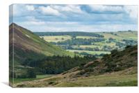 View from St Johns in the vale Cumbria, Canvas Print