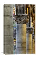 Cathedral Pillars, Canvas Print