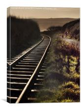 Down The Line, Canvas Print