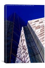 Converging Reflections, Canvas Print
