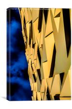 Abstract Titanic Too, Canvas Print
