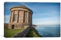 The leaning tower of Mussenden, Canvas Print