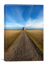 All Roads Lead to Mussenden, Canvas Print
