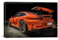 Porsche 911 GT3S (2), Canvas Print