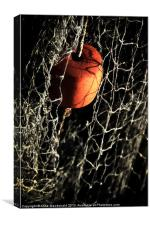 Fishing Nets And Cork Float, Canvas Print