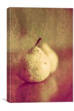 Two Pears Or One Pair, Canvas Print
