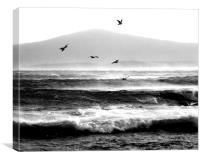 Winter Seas, Canvas Print