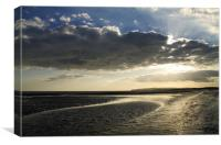 Evening at Rye Bay, Canvas Print