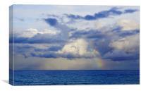 Rainbow Ahoy, Canvas Print
