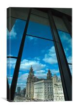 Pier Head, Canvas Print