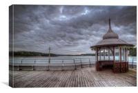 Bangor Pier, Canvas Print
