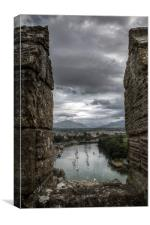 View from the Battlements, Canvas Print