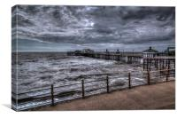 Blackpool North Pier, Canvas Print