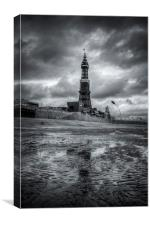 Blackpool Tower, Canvas Print