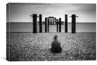Brighton West Pier No.1, Canvas Print