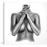 body, Canvas Print