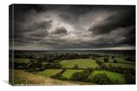 Glastonbury Tor Storm, Canvas Print