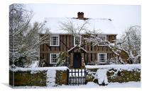 Winter Home, Canvas Print