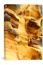 sandstone scar, Canvas Print