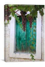 Grapes, Canvas Print