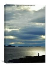 Rhue Lighthouse, Canvas Print