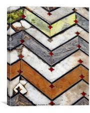 Marble Floor, Canvas Print