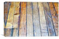 Floorboards, Canvas Print