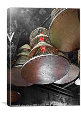 Incense Trays, Canvas Print