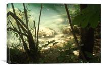 Aspendos waters, Canvas Print