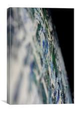 space oils, Canvas Print