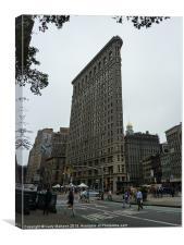 Flat Iron Building New York, Canvas Print
