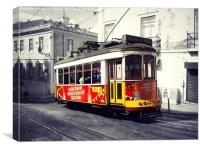Tram no. 28, Canvas Print